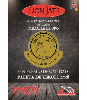 PALETA VILLAMÓN D.O. TERUEL