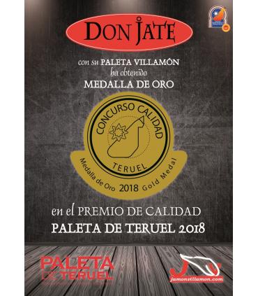 PALETA DE TERUEL DOP. VILLAMÓN