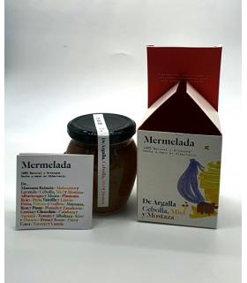 MERMELADA ARTESANA DE ARGALLA CEBOLLA, MIEL Y MOSTAZA